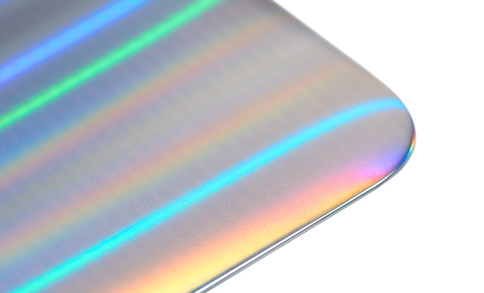 holographic surface design by LEONHARD KURZ