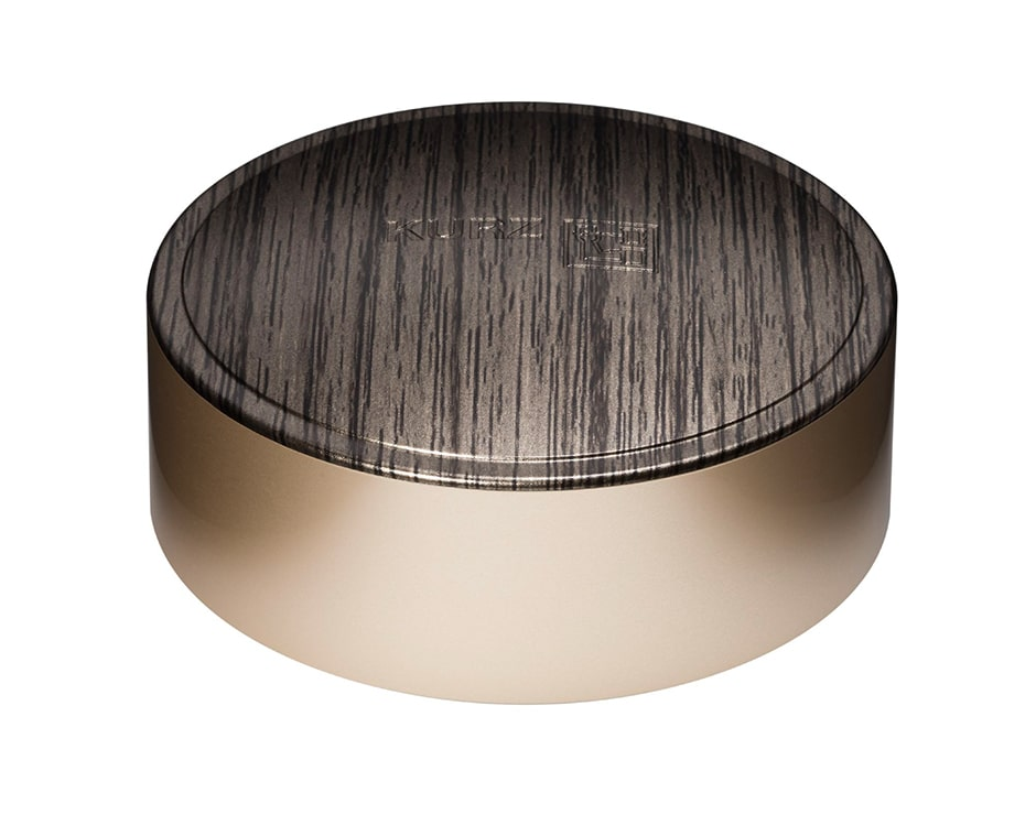 Surface decoration cosmetics & healthcare CAP-tivate luxury gold wood