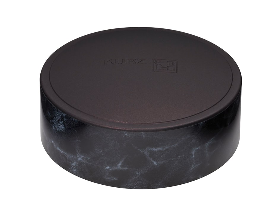 Surface decoration cosmetics & healthcare CAP-tivate luxury marble dark
