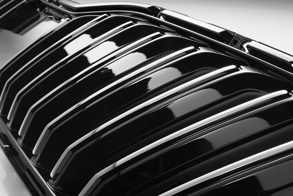 Chrome plating grille