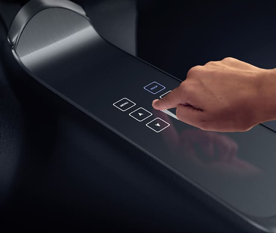 KURZ Touchdisplay Touch control